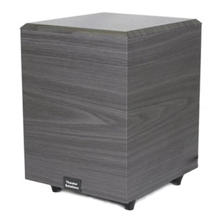 Theater Solutions Black SUB8D Down Firing Powered Subwoofer