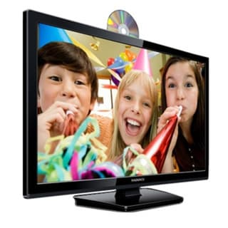 28-inch 720p Slim LED LCD HDTV with Built-in DVD Player