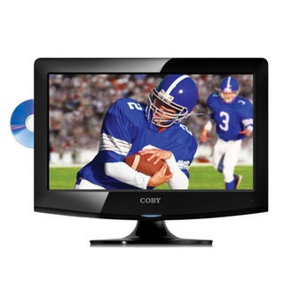 Coby TFDVD1595 15-inch LCD HDTV with Built-in DVD Player (Refurbished)