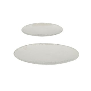 Set of 2 Steel Dishes
