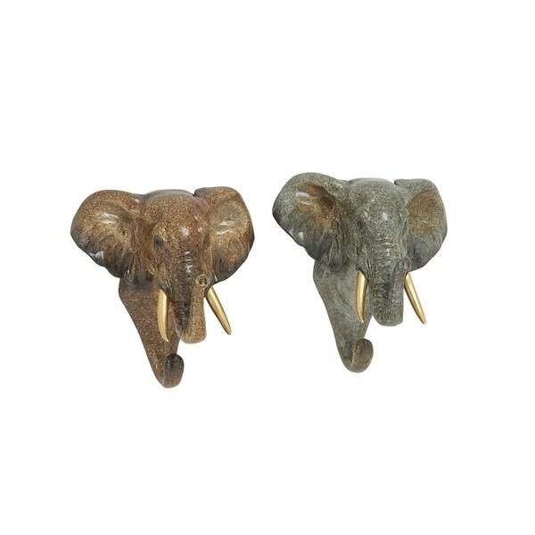 2 Assorted Elephant Hook