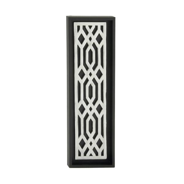 Eccentric Wood Aluminum Wall Panel