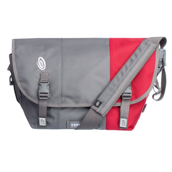 Timbuk2 Medium Gunmetal/Rev Red Colorblock Classic Messenger Bag