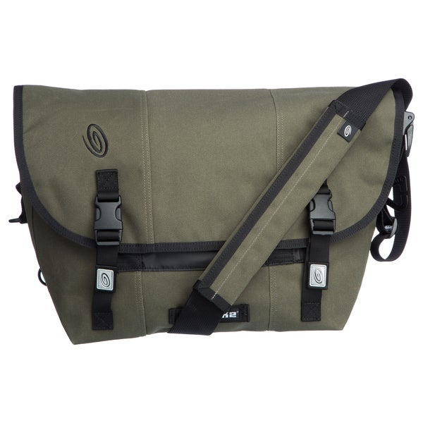 Timbuk2 Medium GI Green Weathered Canvas Classic Messenger Bag