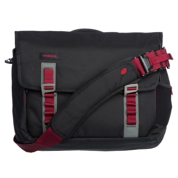 Timbuk2 Medium Black/Red Devil Command Messenger Bag