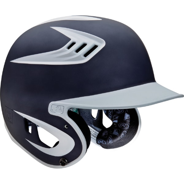 Rawlings 80MPH Two-Tone Matte Navy Jr. Helmet