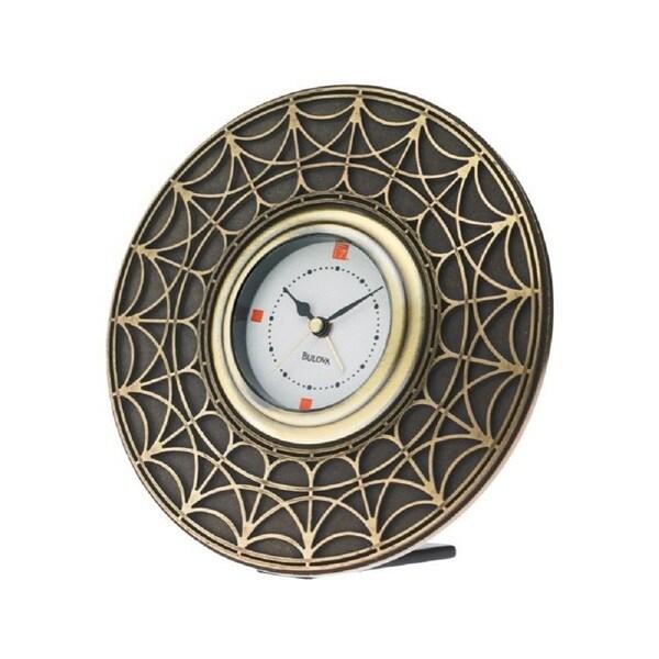 Bulova Frank Lloyd Wright Blossom House Collection table Clock