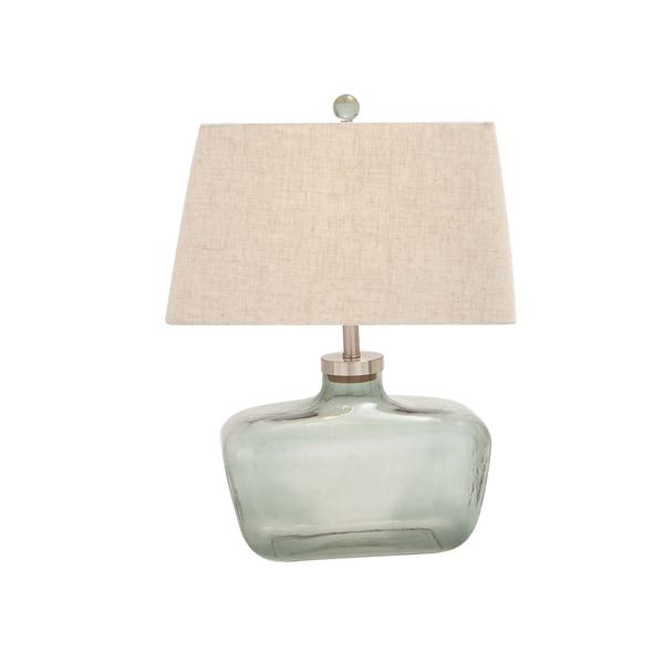 Aqua Blue Table Lamp