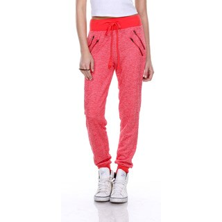 Stanzino Women's Drawstring Solid Casual Athletic Lounge Pants