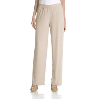 Joan Vass New York Women's Pull On Pant