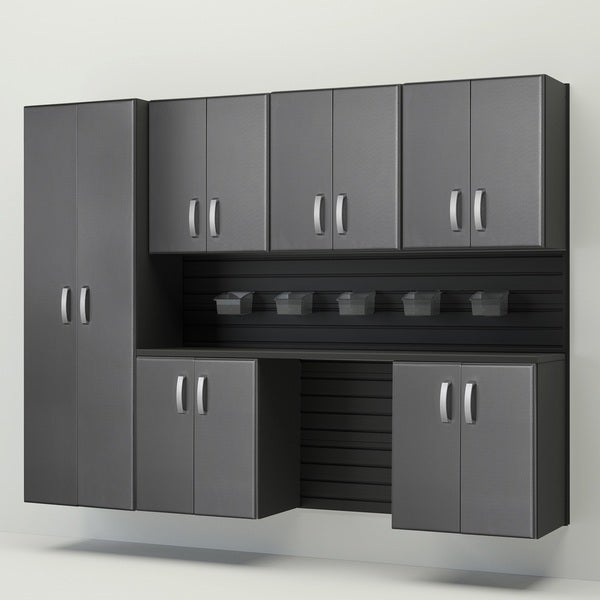 Flow Wall 8pc Cabinet Set