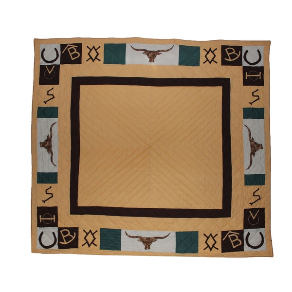 Ranch House Trail King Quilt