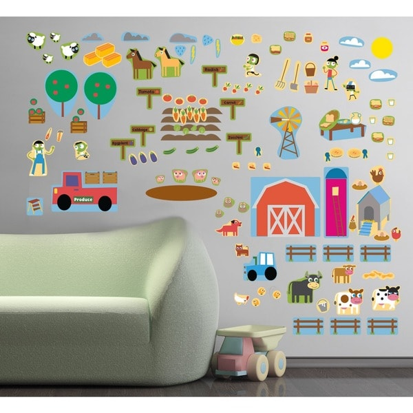 Farm Fun Wall Decal Set