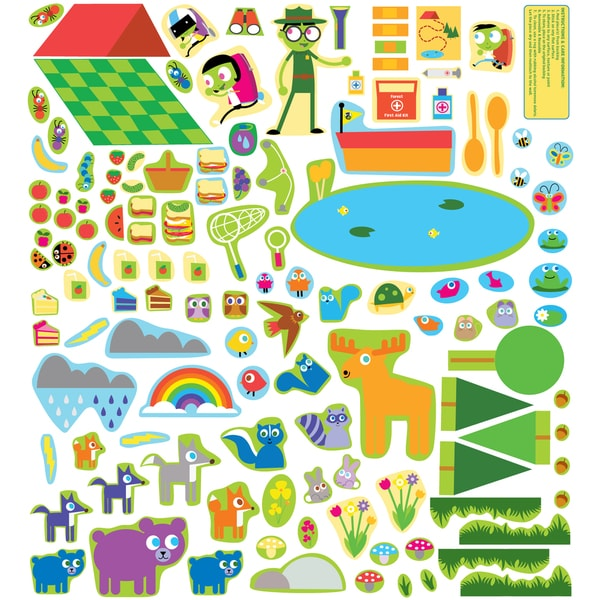 Forest Adventure Wall Decal Set