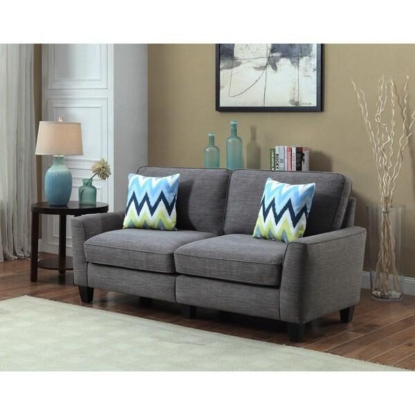 Serta RTA Vivienne Collection Azure Grey 78-inch Sofa