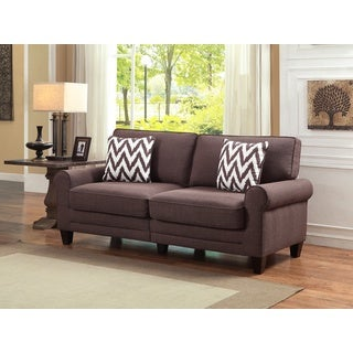 Serta RTA Natori Collection Kariya Brown 73-inch Sofa