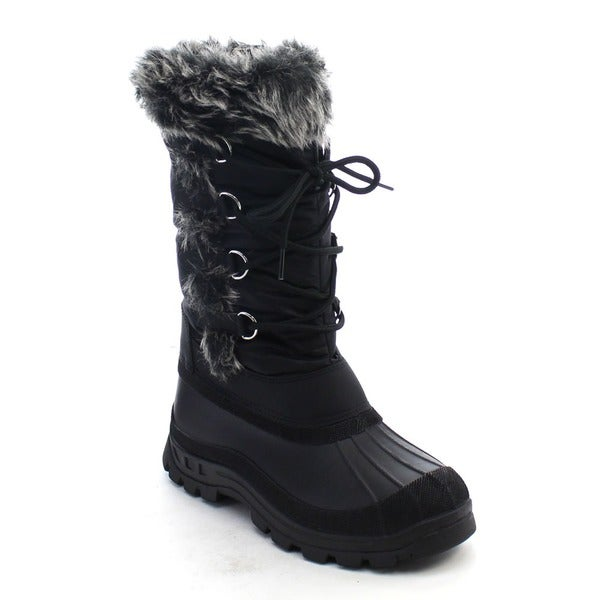 Beston CB38 Women's Lace Up Snow Boots
