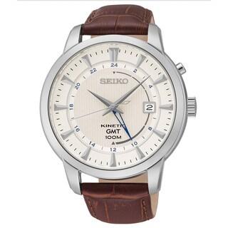 Seiko Men's Core Analog Display Analog Quartz Brown Watch
