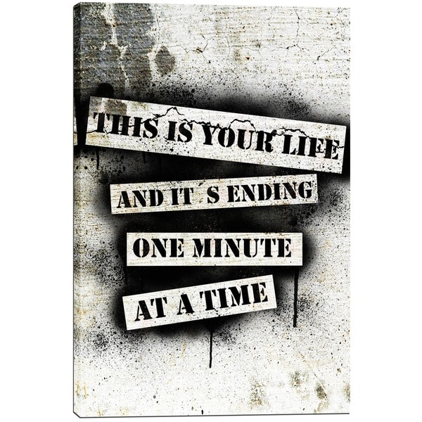 Cortesi Home 'This Is Your Life - Fight Club' by Nicklas Gustafsson Giclee Canvas Wall Art 16844981