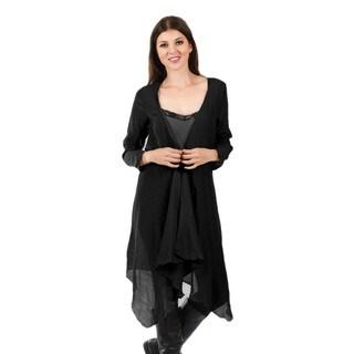 Firmiana Women's Long Sleeve Open Duster
