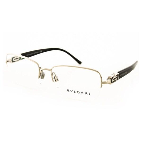 Bvlgari Half-Rim Eyeglasses