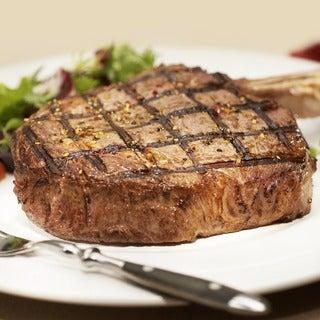 Chicago Steak Company 4 12-ounce Premium Angus Beef Bone-in Ribeye