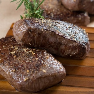 Chicago Steak Company 6-ounce USDA Prime Wet Aged Top Sirloins