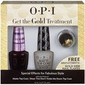 OPI Get the Gold Treatment Free Gold Gem Nail Flakes