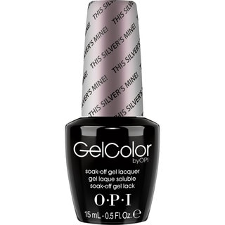 OPI Gel Color Nail Polish This Silver's Mine