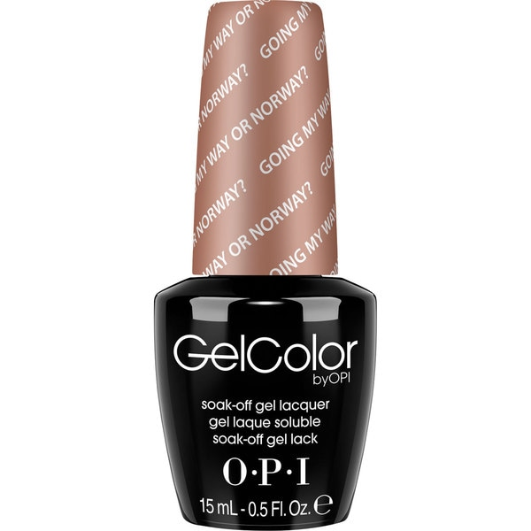 OPI Gel Color Going My Way or Norway