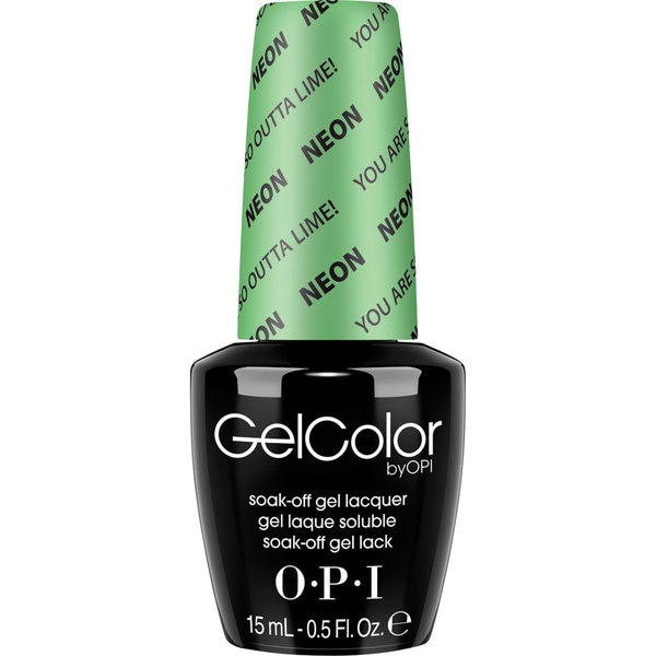 OPI GelColor You Are So Outta Lime