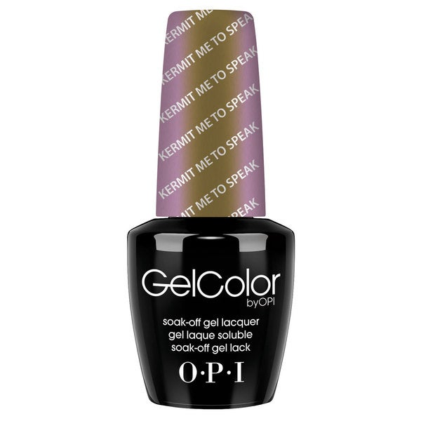 OPI GelColor Kermit Me to Speak