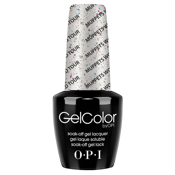 OPI GelColor Muppets World Tour