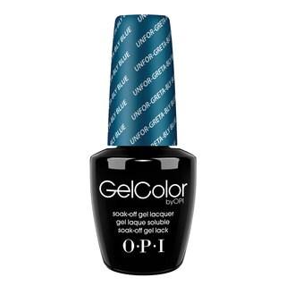 OPI GelColor Unforg-Greta-Bly Blue