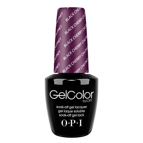 OPI GelColor Nail Polish Black Cherry Chutney