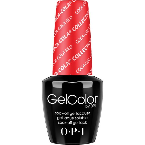 OPI GelColor Coca-Cola Red