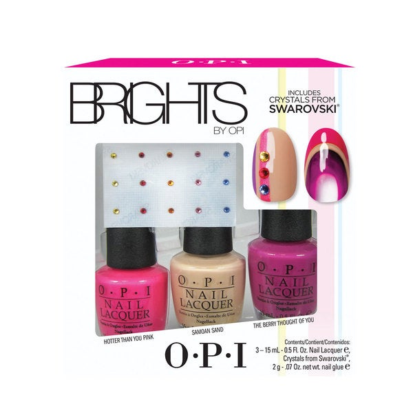 OPI Brights Trio Pack with Swarovski Crystals