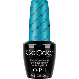 OPI GelColor Nail Polish I Sea You Wear