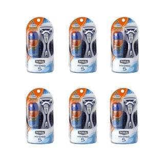 Hydro 5 Razor with 1.8-ounce Cool Zone SPF 30 Sunscreen (Pack of 6)