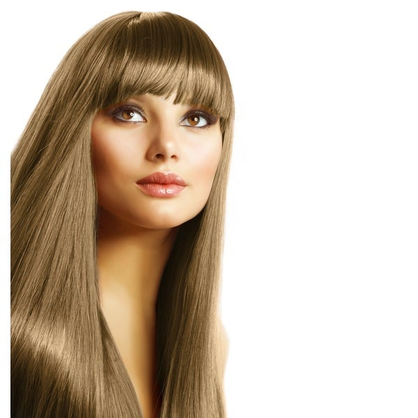 Sono 100-percent Human Hair Straight Across Bang Extensions