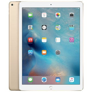 "Apple iPad Pro (ML0H2CL/A) 12.9"", A9X Chip, 32GB, Wi-Fi, Gold"