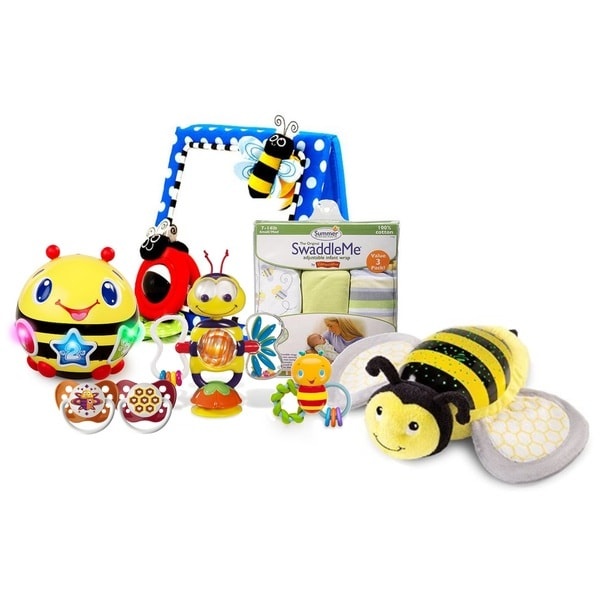 Cute As Can Bee Baby Activity & Soothing Sleep Set