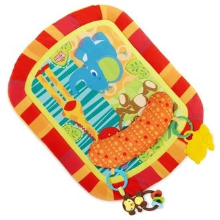 Bright Starts Children's Safari Adventures Prop And Play Mat