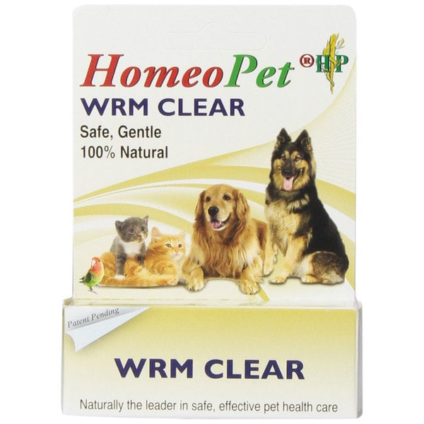 HomeoPet 15 mL Worm Clear