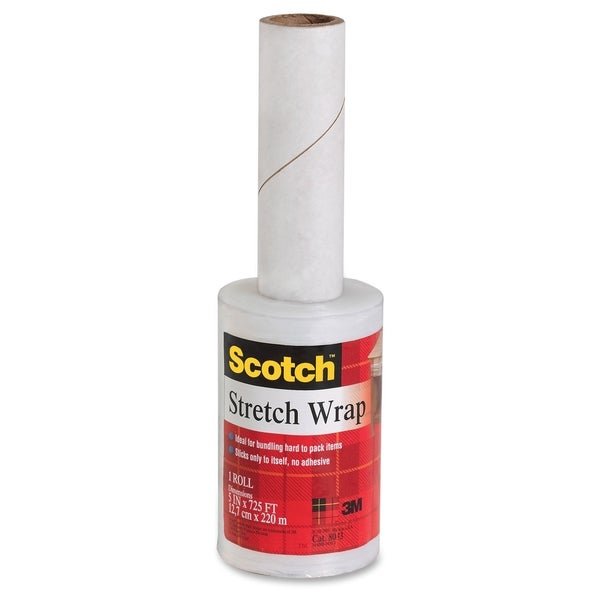 Scotch Stretch Wrap on Hand-held Dispenser - 1/EA