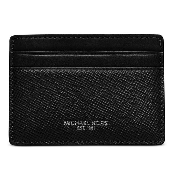 MICHAEL Michael Kors Harrison Card Case Black