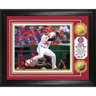 "Bryce Harper ""NL MVP"" Gold Coin Photo Mint"