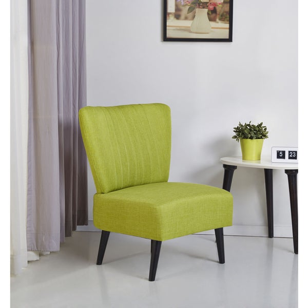 Fontana Lime Accent Chair 17937791 Overstock Com