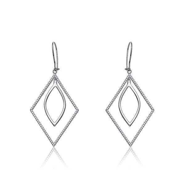 Collette Z Sterling Silver Geometric Shape Earrings