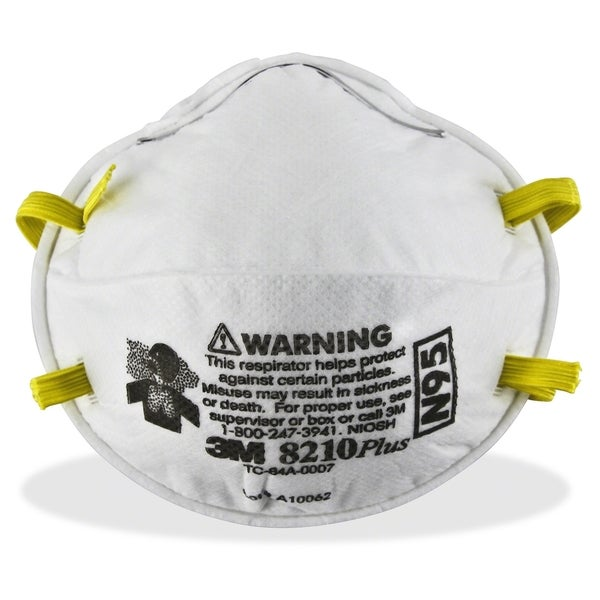 3M 8210PLUS N95 Particulate Respirator - 20/BX